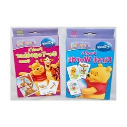 Set of 2 Disney I Can Learn with Pooh Baby Flash Cards:Pooh'