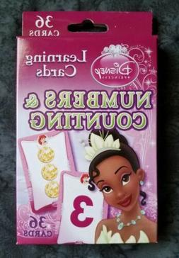 Disney Princess Learning Cards Numbers & Counting Flash Card