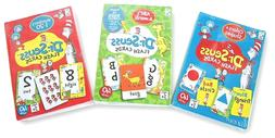 Dr. Seuss Flash Cards 2020 Lot of 3 ABCs-COLORS-NUMBERS