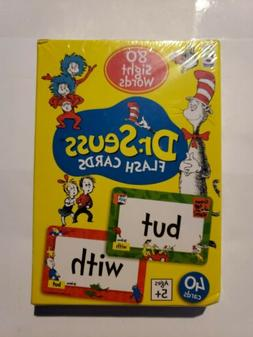 Dr. Seuss Flash Cards 80 Sight Words 40 card Learning to Rea