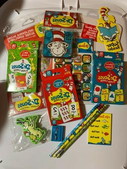 DR.SEUSS FLASH CARDS NUMBERS 1-20, ABC'S & WORDS, COLORS & S