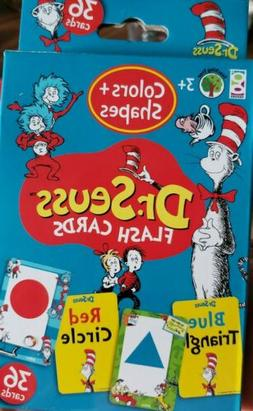 New DR.SEUSS FLASH CARDS NUMBERS 1-20, ABC'S WORDS, COLORS &