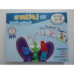 Brainy Baby My Letters Brainy Box Dvd, Book and Flash Card A
