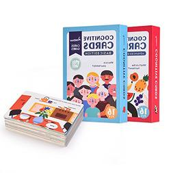 Early Learning Education Flash Cards - Amour-Joie 16PCS in 1