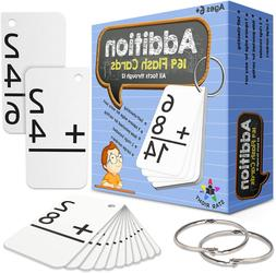 Star Right Education Addition Flash Cards, 0-12  With 2 Ri