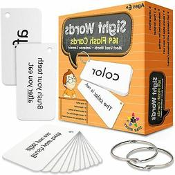 Star Right Education Sight Words Flash Cards, 169 Sight Word