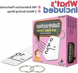 Star Right Education Subtraction Flash Cards, 0-12