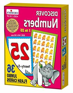 Creative's Educational Learning Discover Numbers  Paper Boar