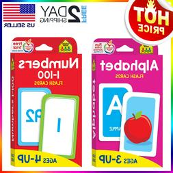 English Alphabet & Numbers 1-100 Flash Cards Toddlers Kids P