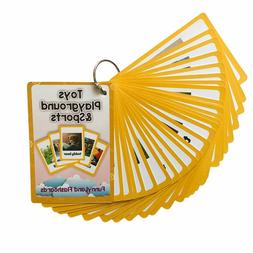 English Learning Word Card Emotions Nature Food Flash Card E
