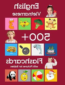 English Vietnamese 500 Flashcards for babies