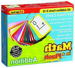 Edupress EP-2430 Math in a Color-Coded Addition Flash Cards,