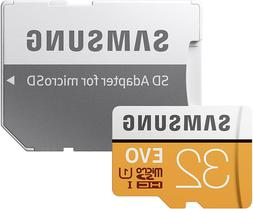Samsung EVO MicroSD Memory Card with Adapter 32 GB, 95MB/s