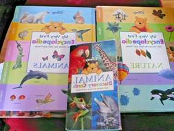 First Edition 2x Winnie Pooh Encyclopedia books - Animals &