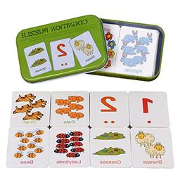 Lependor First Words Flash Card for Toddler Preshool Early L