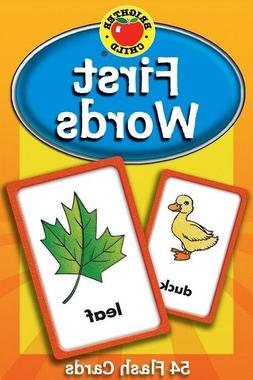 first words flash cards learning set kids