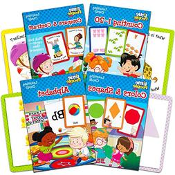 Fisher Price Flash Cards Super Set for Toddlers Kids -- 4 Pa