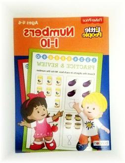 Fisher Price Little People Numbers 1-10 Activity Book~ Plays