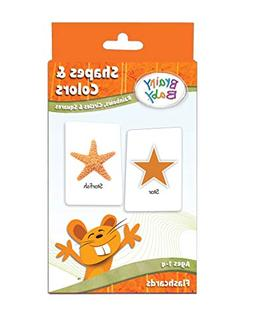 Brainy Baby Flash Card Set Shapes and Colors Rainbows Circle
