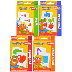 Playskool Flash Cards 4 Pack Pre K Kindergarten Fun Learning