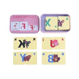 Flash Cards, Early Learning Enlightment Toy Card With Iron B