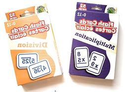 Flash Cards - Multiplication and Division