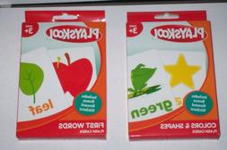 Playskool Flash Cards : Colors & Shapes/First Words