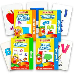 Playskool Flash Cards  - 4 Sets of Flash Cards  - Packaging