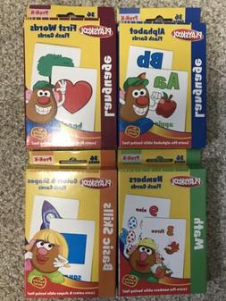 Playskool Flash Cards - Alphabet/First Words/Shapes & Colors