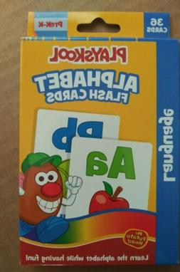 Playskool Flash Cards - Alphabet  PreK-K Language Skills 36