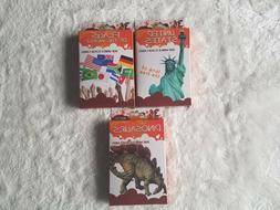 Flash Cards By Bendon 3 Pack - Ages 5+ - Dinosaurs, United S