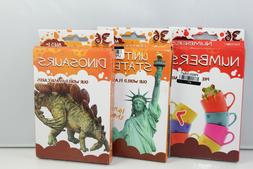 Flash Cards By Bendon 3 Pack United States, Numbers & Dinosa
