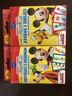 Flash Cards: Disney Mickey Mouse Clubhouse Learning Game Car