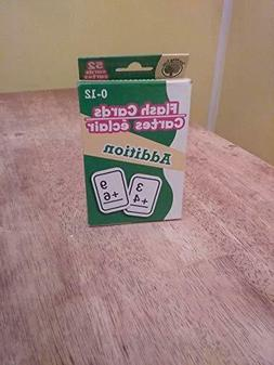 Flash Cards~ For Addition~Math~52 Cards~0-12~Teaching Tree/G