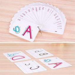 Flash Cards For Kid Alphabet Toddler Early Learning Educatio