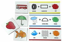 Clever Cubes Flash Cards for kids package of 1 set