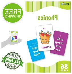 Flash Cards for Kids Teaching Phonics 86 Flashcards