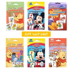 flash cards for kids winnie pooh mickey