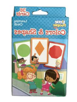 Flash Cards - For Toddlers - Learning Shapes And Colors - 36