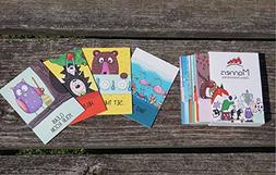FLASH CARDS FOR TODDLERS LEARNING MANNERS