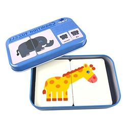 Orita 32Pieces Flash Cards Learning Alphabet Daily Use Artic
