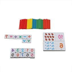 GLOGLOW Baby Flash Cards Number Matching Puzzle Cards Early