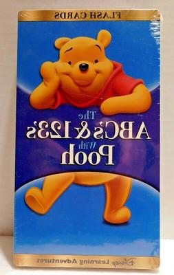 FLASH CARDS THE ABC's & 123's WITH POOH Disney Learning Adve