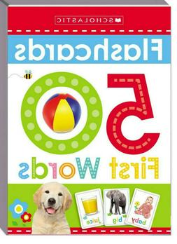 Flashcards 50 First Words Scholastic Early Learners  FREE Sh