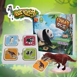 Flashcards, Pandawill AR&4D Learning Cards Magical Animal In