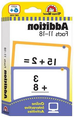 Constructive Playthings 4169 Flashcards - Addition Facts 11-