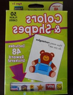 Flashcards Colors and Shapes With S