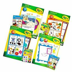 Preschool Workbooks and Flashcards for Toddlers Kids Set, 2-