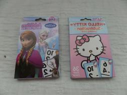 Frozen Addition And Hello Kitty Subtraction Learning Flash C