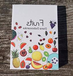 FRUITS FLASH CARDS FOR TODDLERS